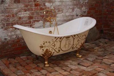 Ремонт чугунной ванны